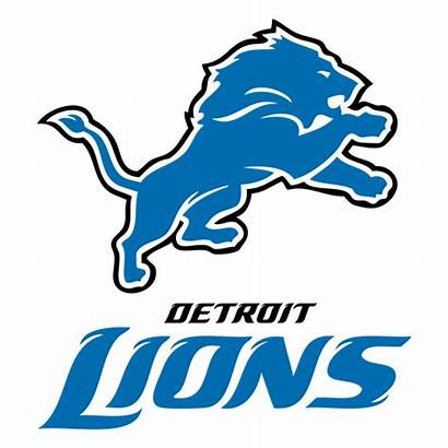 Lions Detroit Football American Transparent Svg Nfl