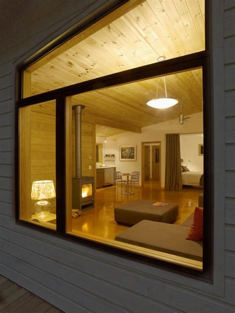 rumah kayu minimalis modern cabin versi houzz disain