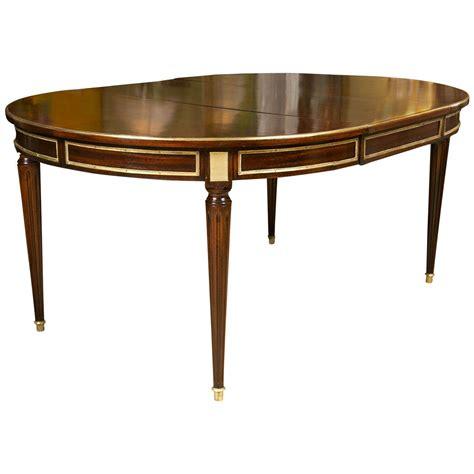 louis xvi table louis xvi style mahogany circular dining table by