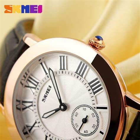 jam tangan analog wanita skmei 1083cl orange garansi 1 bulan skmei jam tangan analog wanita 1083cl orange
