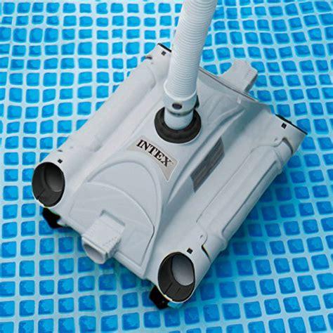 intex 28001 robot de piscine nettoyeur de fond pour piscines hors sol pour filtration entre 6 et