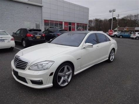 find used 2010 mercedes s class s63 amg white on