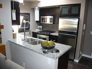 Small spaces beautiful condo kitchen home improvement for Example interior design for small condo unit