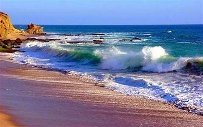 Ocean Desktop Waves Wallpapers Computer Water Wallpapersafari