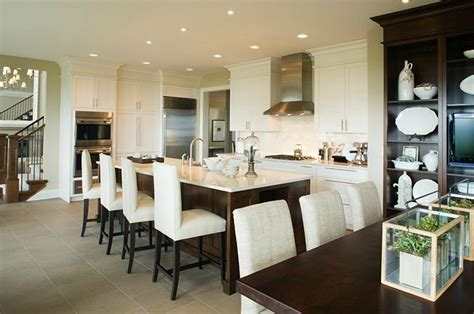 eat at kitchen islands spacious white brown and gray eat in kitchen design with 7015