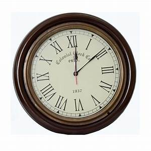 Classic, Vintage, Style, Colonial, Wall, Clock