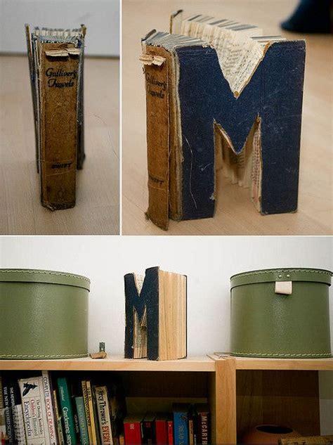 Diy Home Decor Books by Idee Per Riciclare I Libri Vecchi La Figurina
