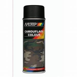 Bombe Anti Humidité : bombe de peinture noir camouflage motip m04206 400 ml ~ Medecine-chirurgie-esthetiques.com Avis de Voitures