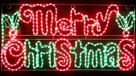 vickysuncom animated cm led merry christmas sign