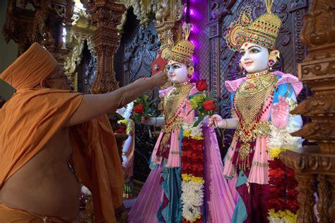 inauguration  baps shri swaminarayan mandir columbia