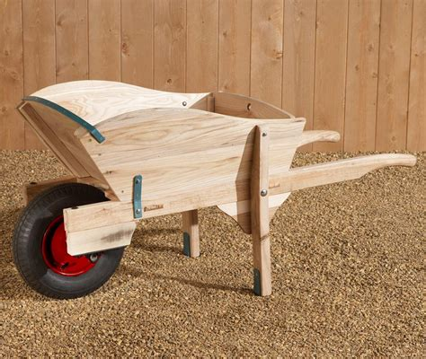 craftsman original wooden wheelbarrow