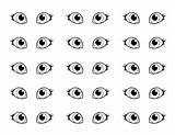 Coloring Eyes Pair Pages Sheet Eye Cat Template Clipart Eyeball Sun Coloringsun Chart Utilising Button Drawing Drawings Directly Grab Feel sketch template