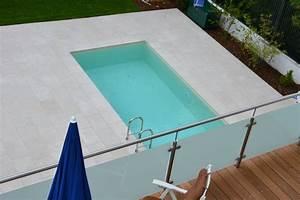 Terrasse Mit Pool : verlegung von naturstein technostein parkett ~ Yasmunasinghe.com Haus und Dekorationen