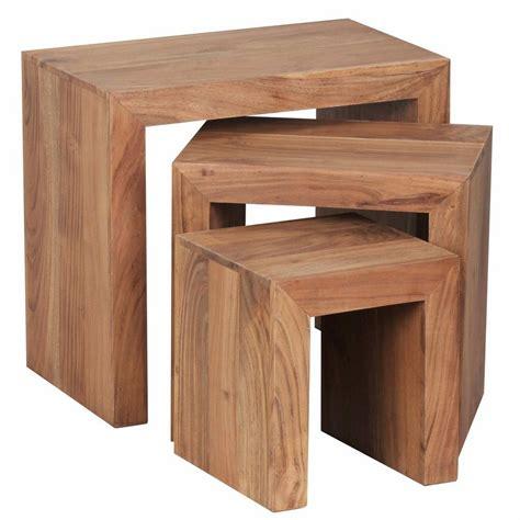 3er Set Tische by Home Affaire Beistelltisch 187 Trayee 171 3er Set Otto