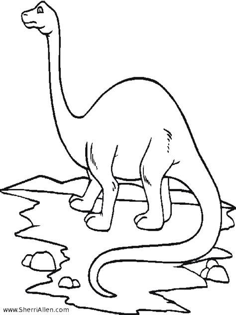 Kleurplaat Grote Dinosaurus by Dinosaurus Dino Kleurplaten