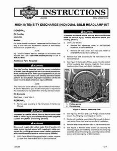 High Intensity Discharge  Hid  Dual Bulb Headlamp