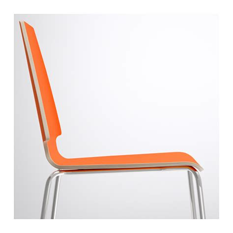 Ikea Vilmar Chair Frame by Vilmar Chair Orange Chrome Plated Ikea