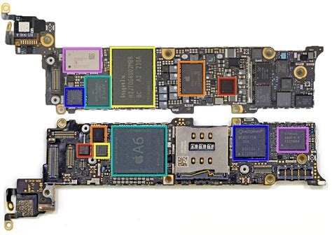 iphone 5 motherboard iphone 5 hardware teardown reveals news for phone