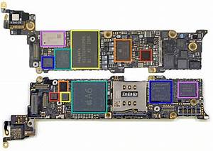 Iphone 5 Logic Board Diagram