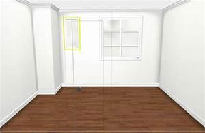 Projets déco : Plans 3D, future cuisine, peinture, papier peint La villa Louise