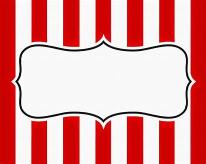 Carnival Signage Sign Blank Circus Tattoo