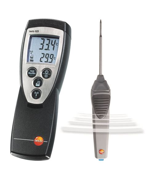 on testo testo 925 1 channel thermometer immersion and