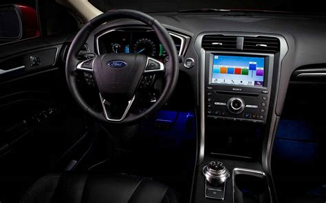 ford fusion 2017 interior 2019 ford fusion hybrid redesign price release date