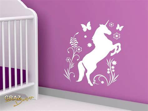 Kinderzimmer Ideen Einhorn einhorn kinderzimmer unicorn einhorn wandtattoo