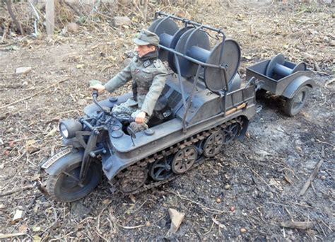Half-track Motorcycle Without Trailer