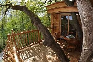 Constructeur Cabane Dans Les Arbres : cabane des p cheurs nidperch constructeur de cabane ~ Dallasstarsshop.com Idées de Décoration