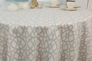 Abwaschbare Tischdecke Rund : gemusterte abwaschbare tischdecke kitt beige novus 80 ~ Michelbontemps.com Haus und Dekorationen