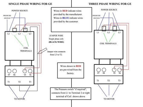 data mag starter wiring