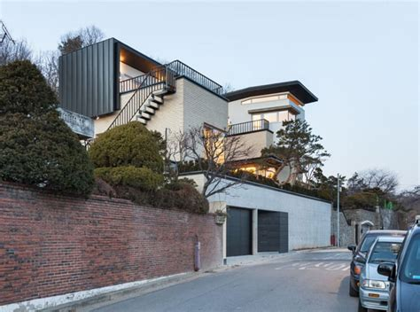modern house in korea modern naegok v house in seoul korea