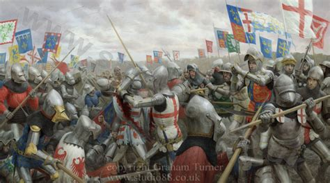 siege of harfleur detail images from battle of agincourt painting