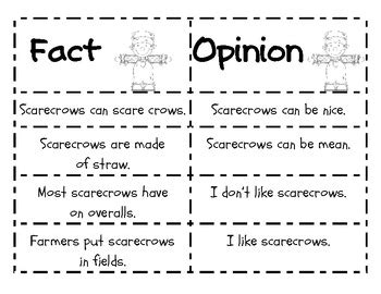 First Grade Common Core  Fact And Opinion Writing By Stephanie Kinley Ruffner