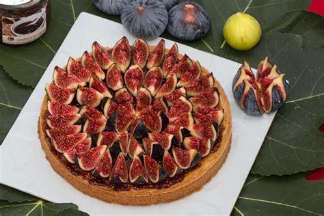 recette de tarte amandine aux figues crues