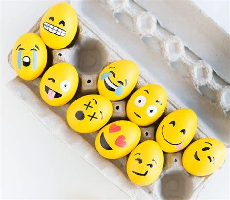 eier bemalen gesichter eier f 228 rben 50einfache ideen zu ostern