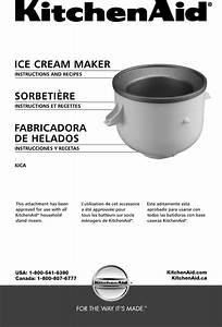 Kitchenaid Ice Cream Maker Instructions