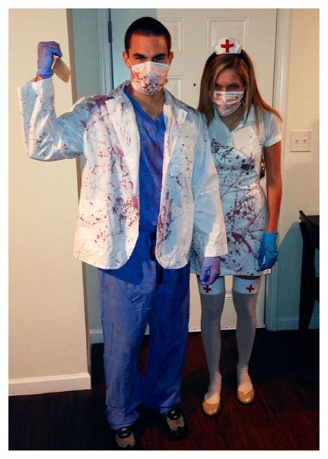 diy zombie dr  zombie nurse costumes craft projects