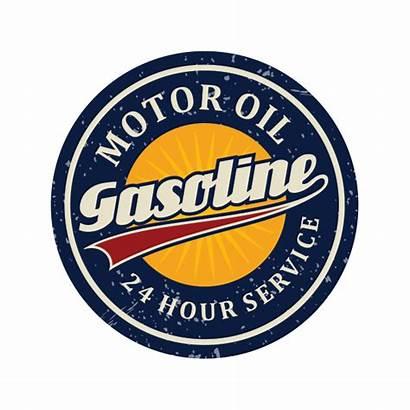 Oil Stickers Gasoline Motor Factory Sticker Vinyl