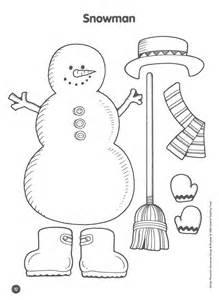 Preschool Snowman Activities