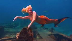 Real Mermaid Footage Underwater Film With Meditation