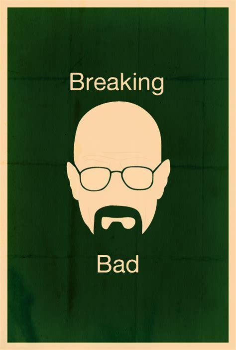 breaking bad poster breaking bad minimalist poster the heizenberg effect