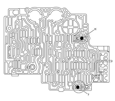 4l80e Valve Diagram by 4l80e Trans No