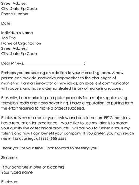 letter  inquiry templates  samples  job inquiries