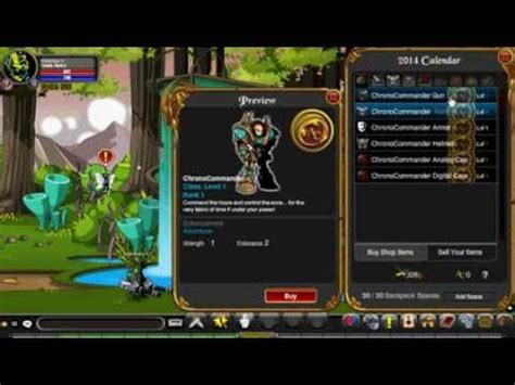 Free Classes by Aqw Free Chronocommander Class Code 2015