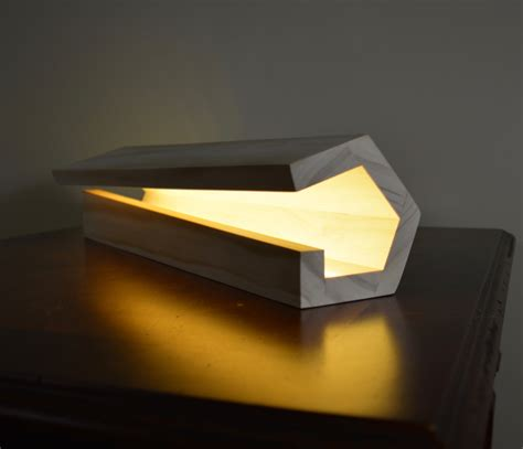 Led Hand Lamp by Modern Wood Lamp