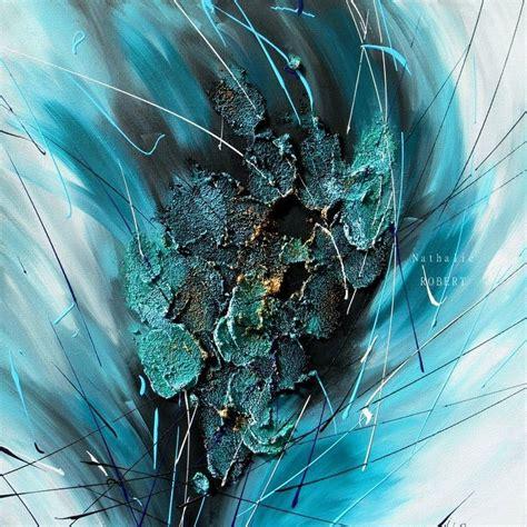 Peinture Cuisine Bleu Turquoise by Best 20 Tableau Abstrait Ideas On Pinterest Toiles En