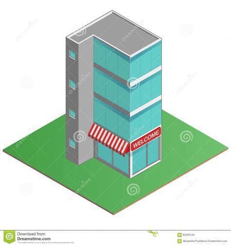 des bureaux immeuble des bureaux 3d moderne centre d 39 affaires dans la