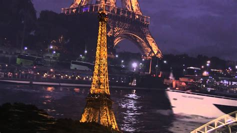 Bateau Mouche Winter by Seine River Cruise At Night Paris France Youtube